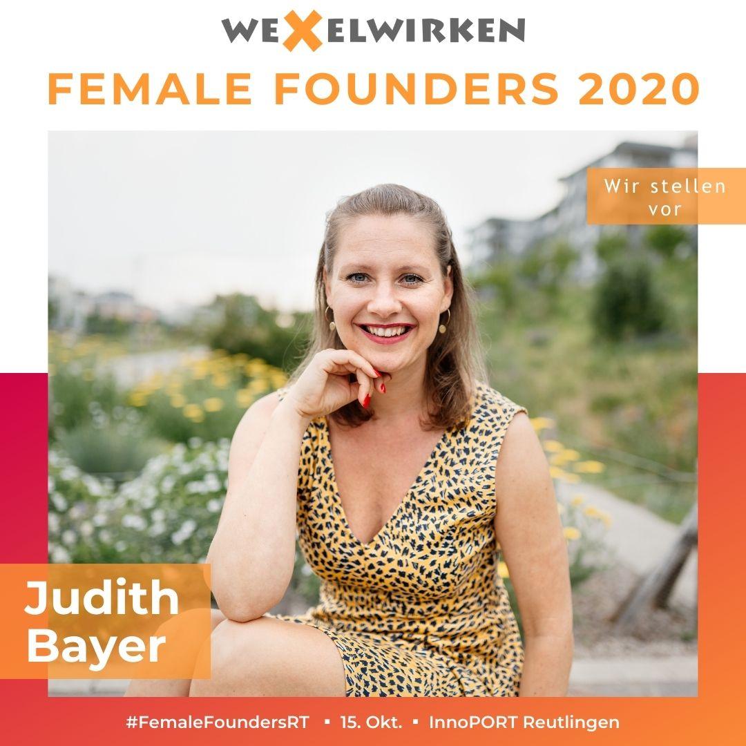 Judith Bayer - Female Founders