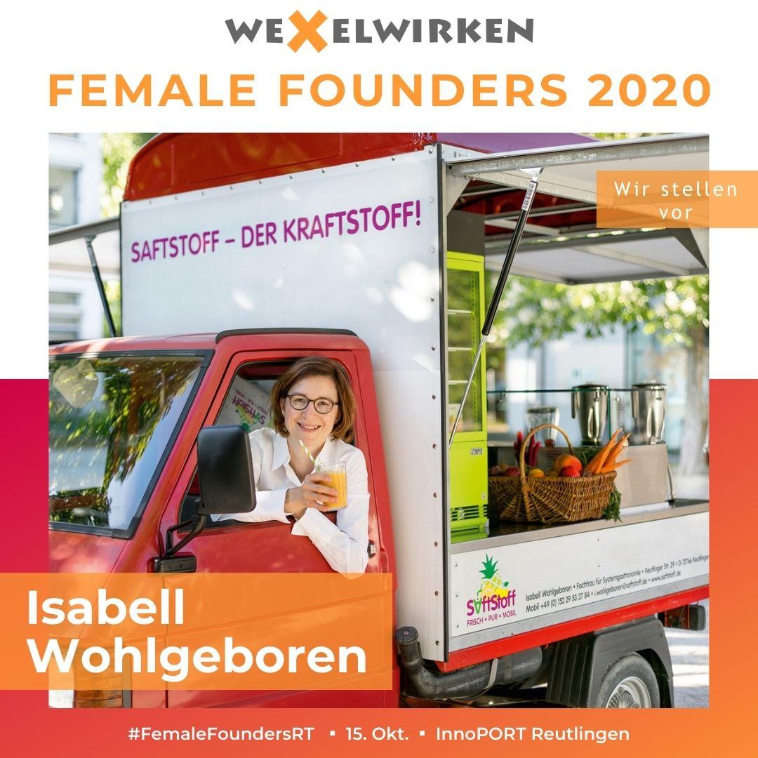 Isabell Wohlgeboren - Female Founders