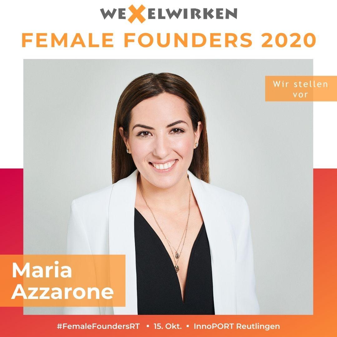 Maria Azzarone - Female Founders
