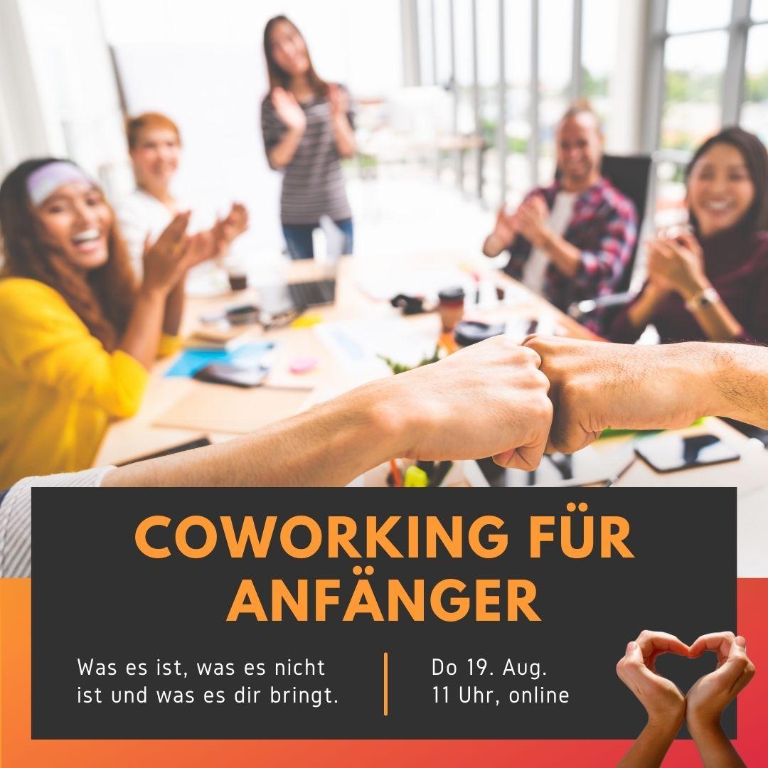 Coworking für Anfänger