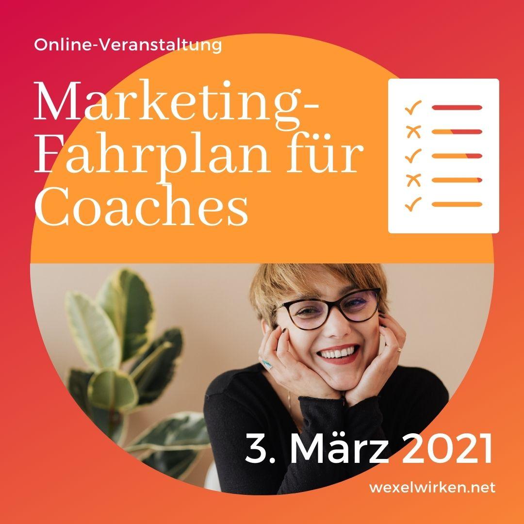 Marketing-Fahrplan für Coaches
