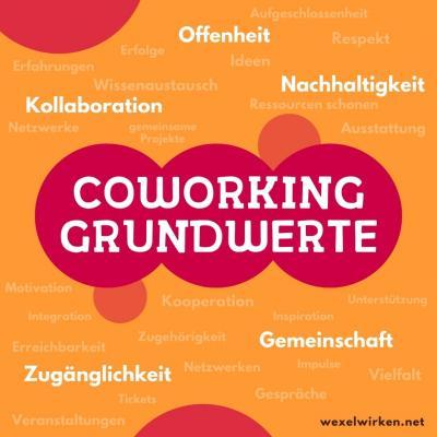 Coworking Grundwerte