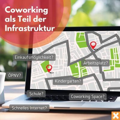 Coworking als Teil der Infrastruktur