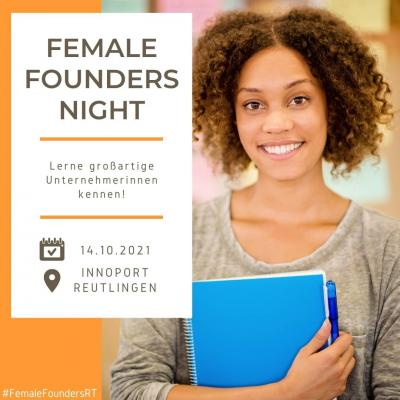 Female Founders Night in Reutlingen 2021