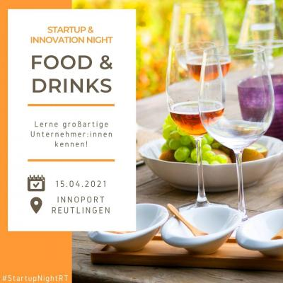 Food & Drinks | Startup & Innovation Night