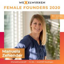 Manuela Zehender - Female Founders