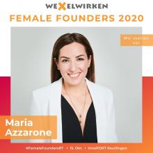 Maria Azzarone - Female Founders